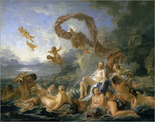 Francois Boucher Triumph der Venus