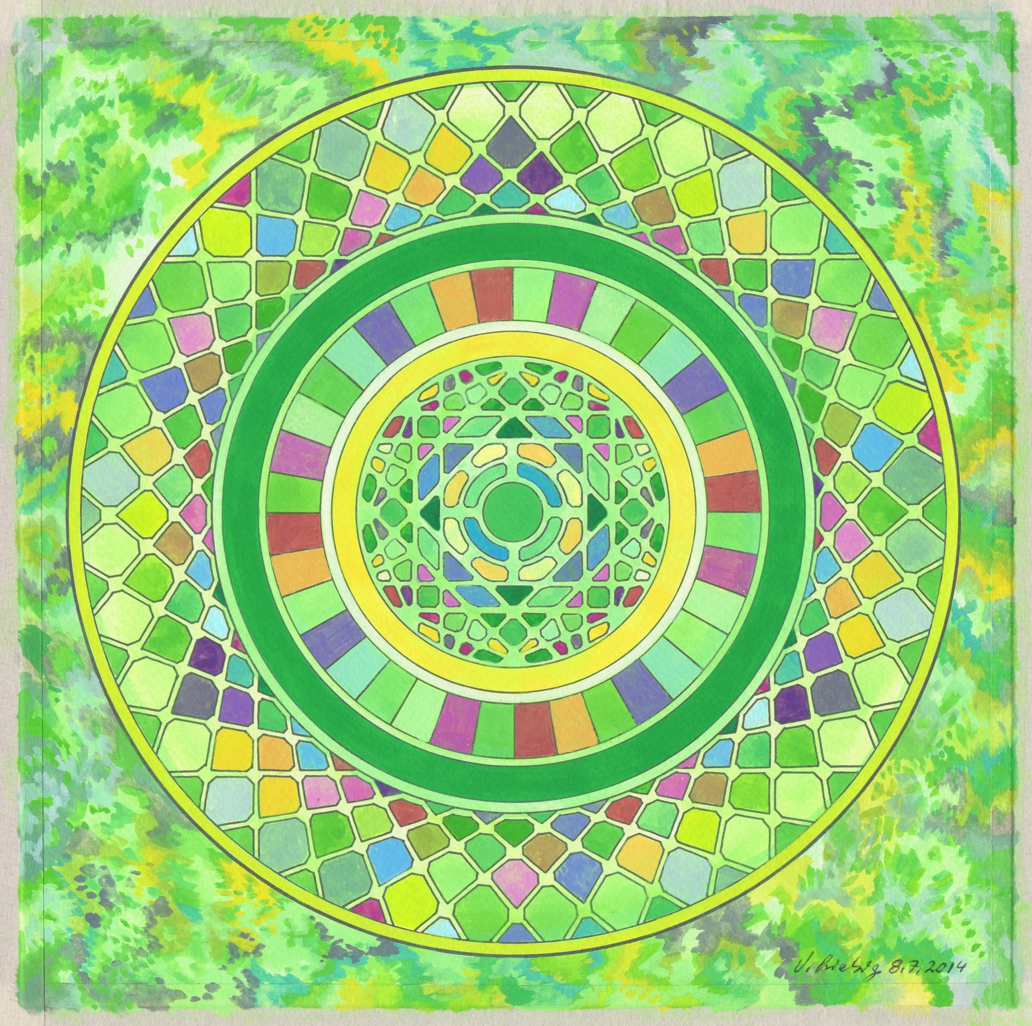 Mandala vom 8.7.2014